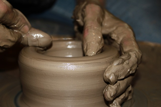 Pottery, Hands, Closeup, Sculpture, Earth, Natural
