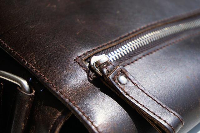 Zip, Bag, Leather, Leather Case, Briefcase, Closure