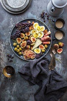 Table, Cloth, Fork, Food, Restaurants, Fruits, Coffee