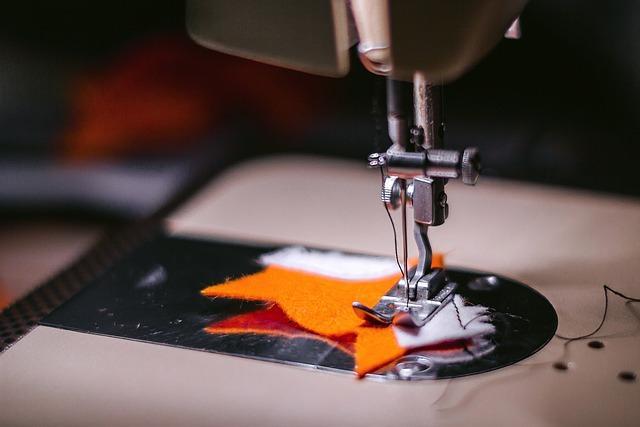 Sewing Machine, Fabric, Cloth