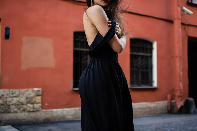 Clothes, Dress, Fashion, Model, Street, Woman