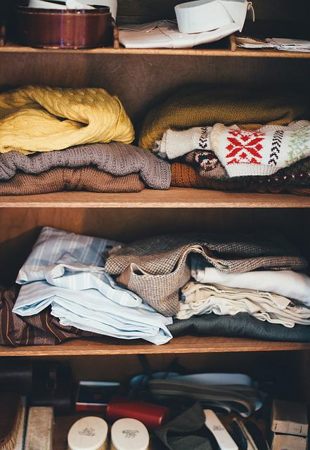 Cabinet, Clothes, Garments, Shelves, Wardrobe