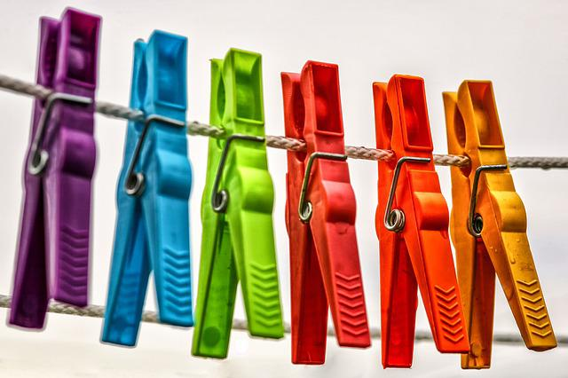 Clothespins, Leash, Clothes Line, Clothes Peg, Hang