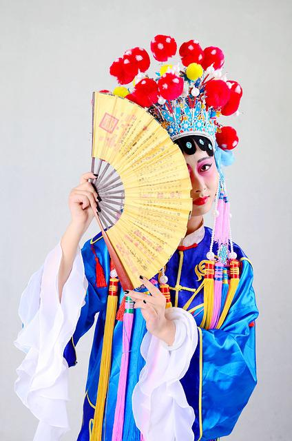 Beijing Opera, China, Quintessence, Fan, Clothing