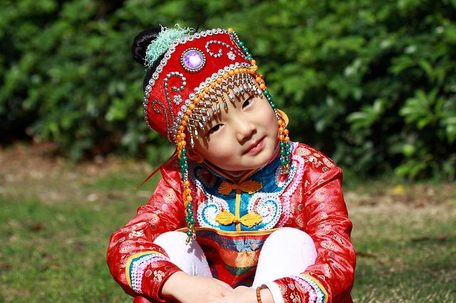Child, People, Pleasure, Traditional, Clothing