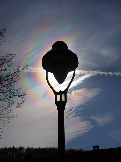 Iridescent, Cloud, Iridescent Cloud