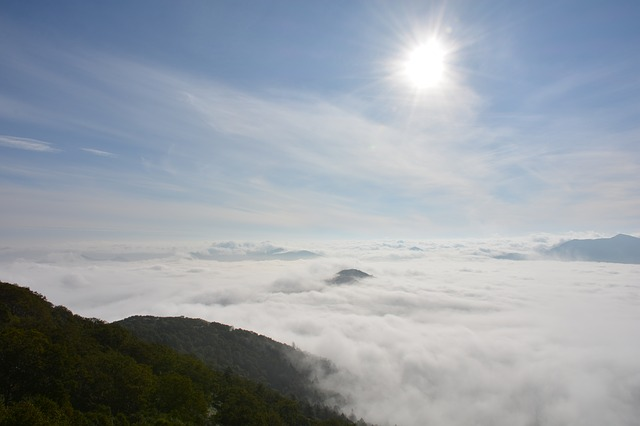 Sea Of Clouds, Terrace, Hokkaido, Cloud