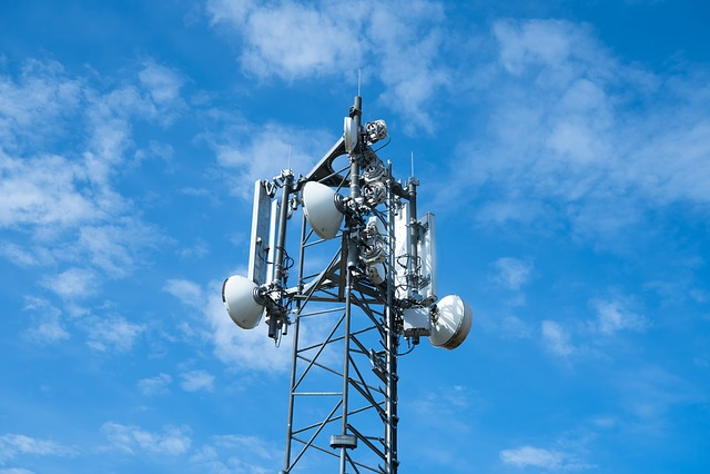 Radio Mast, Clouds, Sky, Blue, Technology, Covered Sky