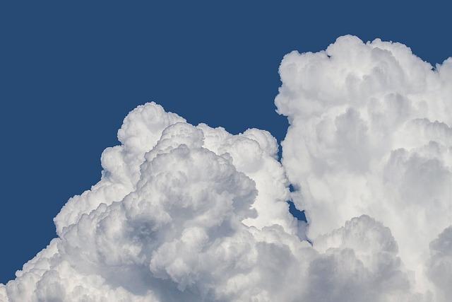 Clouds, Clouds Form, Cloud Mountain, Cumulus Clouds