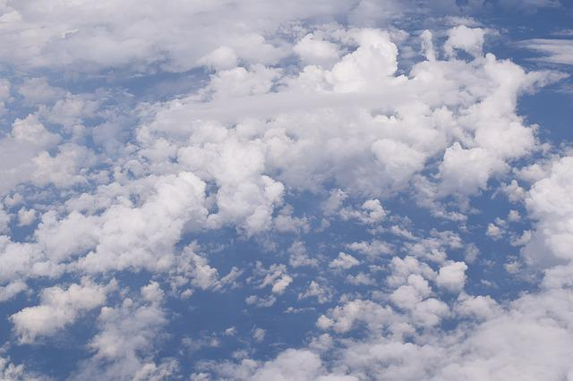 Sky, Clouds, Blue, Clouds Form, Above The Clouds