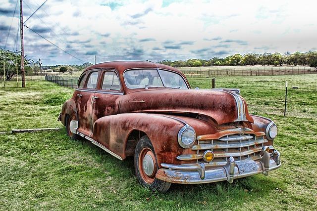 Auto, Automobile, Hdr, Sky, Clouds, Vehicle
