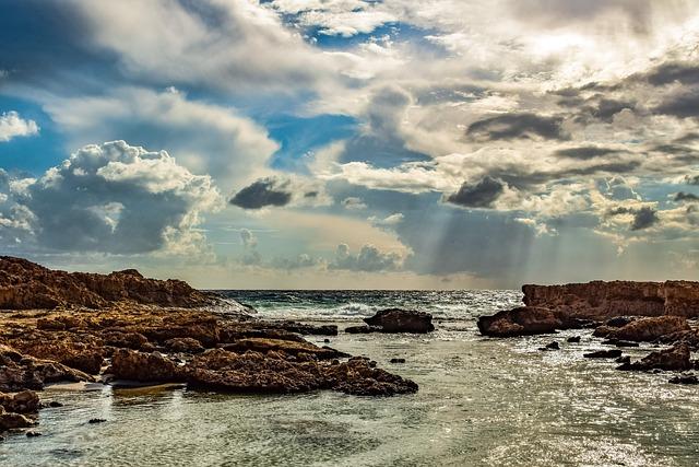 Sra, Nature, Sky, Clouds, Rocky Coast, Travel