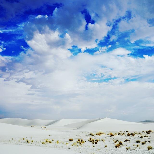 Clouds, Desert, Landscape, Nature, Outdoors, Sand