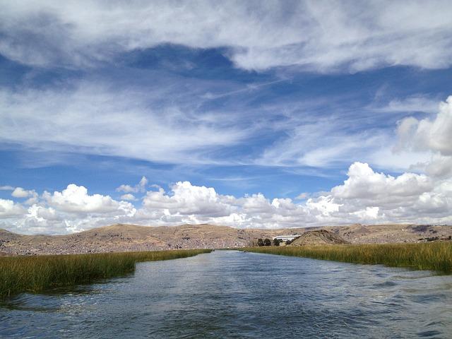 Peru, Chichi Kaka, Lake, Sky, Clouds, Outdoors, Weather