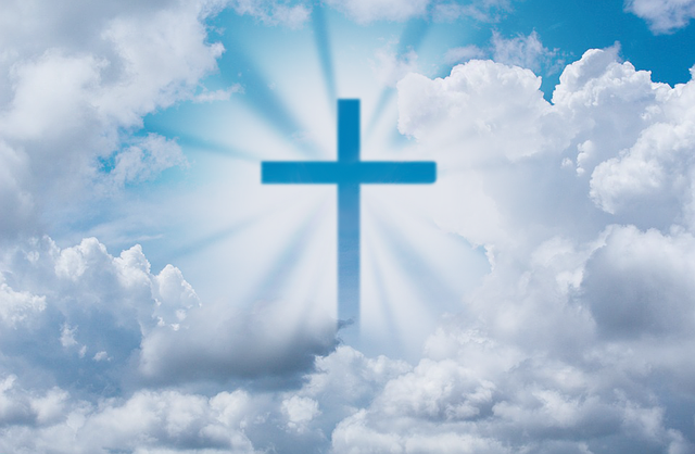 Jesus, God, Bible, Holy, Clouds, Gospel, Religious