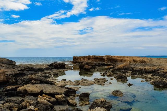 Water, Sea, Seashore, Sky, Clouds, Nature, Beach