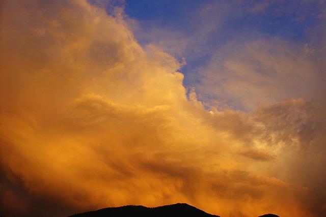 Sky, Forward, Clouds, Sunset, Evening Sky, Weather Mood
