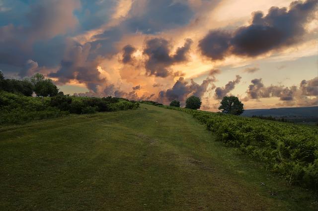 Wales, Hills, Landscape, Nature, Sky, Uk, Clouds, Rural