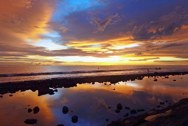 Landscape, Sunset, Natural, Clouds, Beautiful, Sky