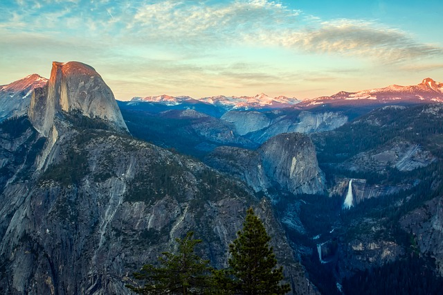 Yosemite, National Park, Tourism, Sky, Clouds, Valley