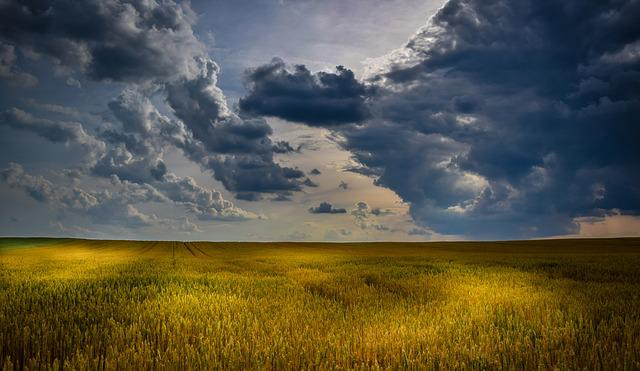Agriculture, Cloudscape, Cloudy Skies, Countryside