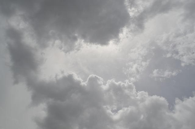 free photo cloudy clouds heavenly grey sky heaven weather