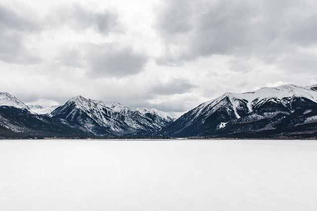 Cloudy, Cold, Landscape, Mountain Range, Mountains