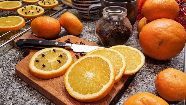 Orange, Oranges, Cloves, Health, Christmas