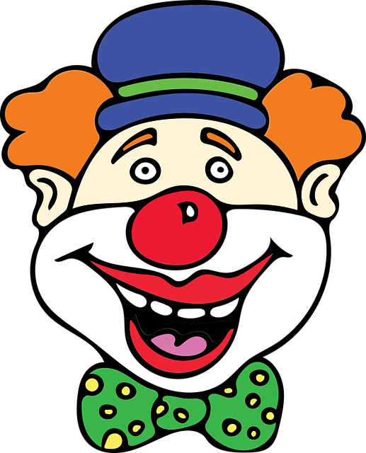 Clown, Red Nose, Costume, Birthday, Comical