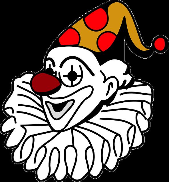 Man, Clown, Person, Joker, Cards, Funny, Fun