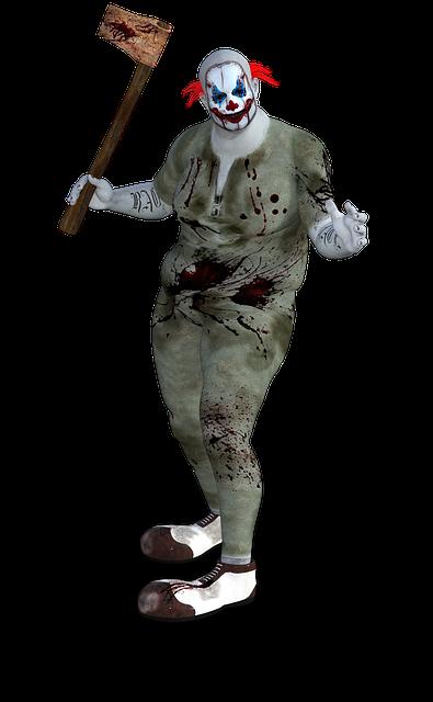 Clown, Terror, Horror, Scary, Halloween, Spooky, Evil