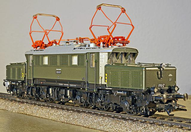 Electric Locomotive, Model, Scale H0, Club Model