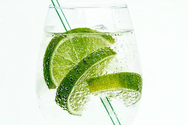 Lime, Club Soda, Drink, Cocktail, Juice, Cold, Glass