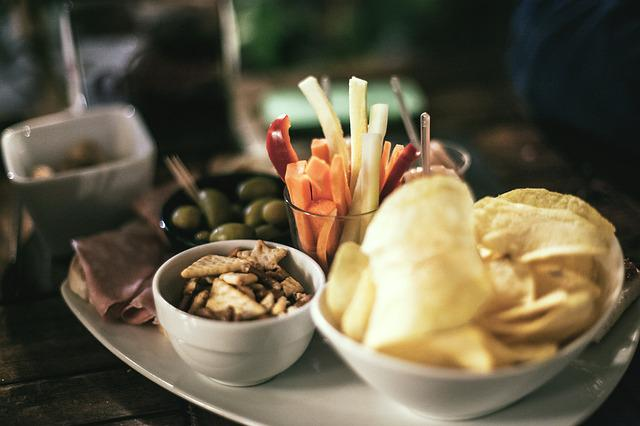 Tapas, Appetizers, Chips, Club, Food, Italy, Vegetables