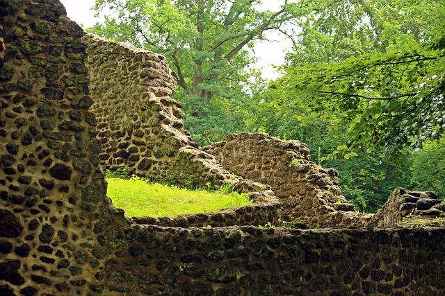 Ruin, Wall, Goal, Rasenerz, Clumping Stone
