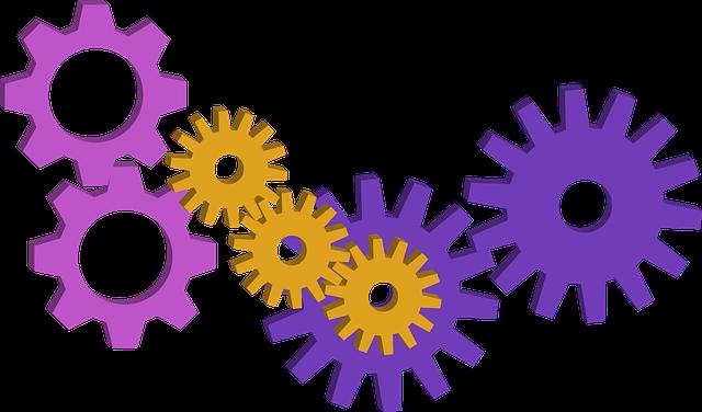 Gear, Gear Wheel, Mechanism, System, Structure, Clutch