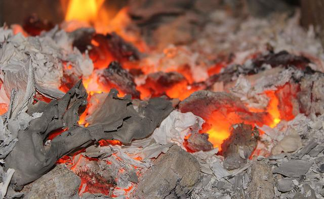 Censer, Damping, Flame, Heat, An Outbreak Of, Coal
