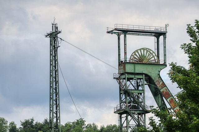 Luisenthal, Saarland, Mining, Pit, Coal Mine, Carbon
