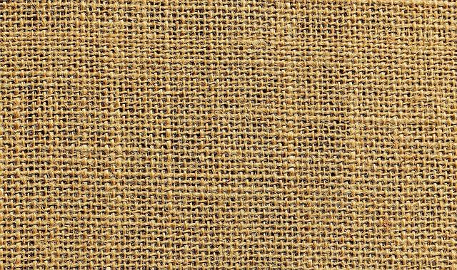 Jute, Tissue, Textile, Fabric, Coarse, Beige, Nature
