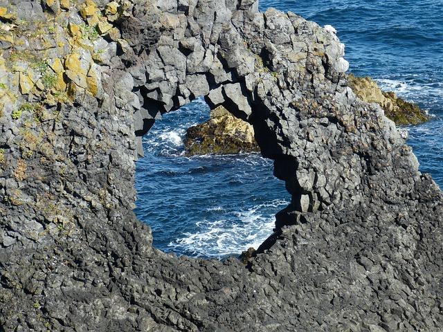 Iceland, Coast, Atlantic, Sea, Cliff, Ocean, Nature