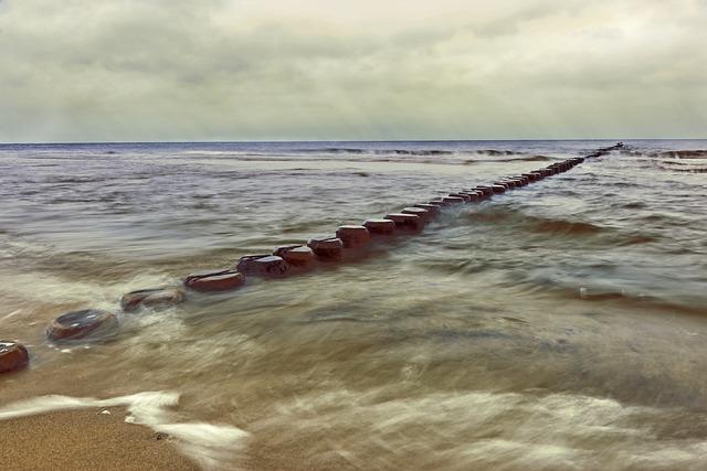 Groynes, Breakwater, Coastal Protection, Coast, Beach
