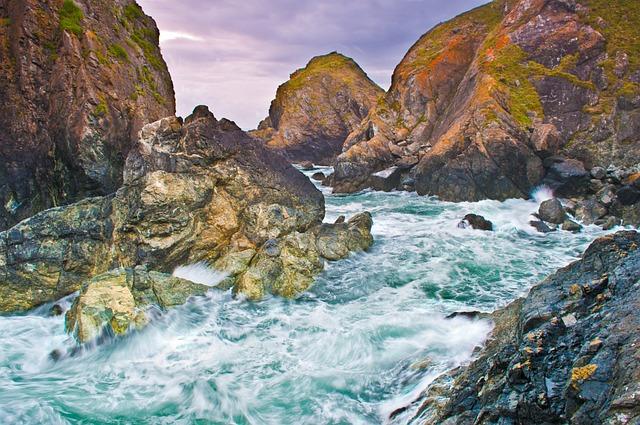 Cornwall, Coast, Sea, Coastline, Cornish, England