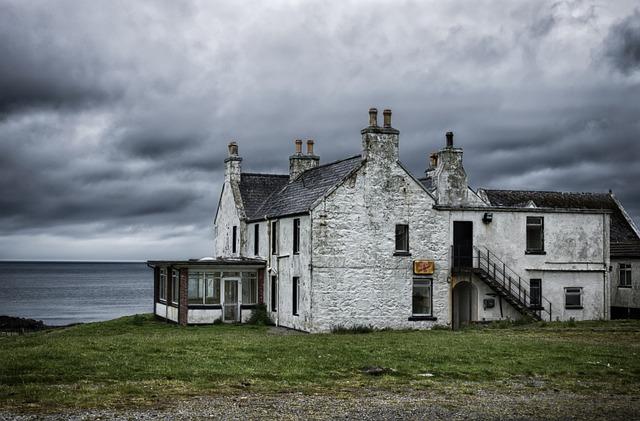Home, Sea, Coast, Scotland, Lost Places, Leave