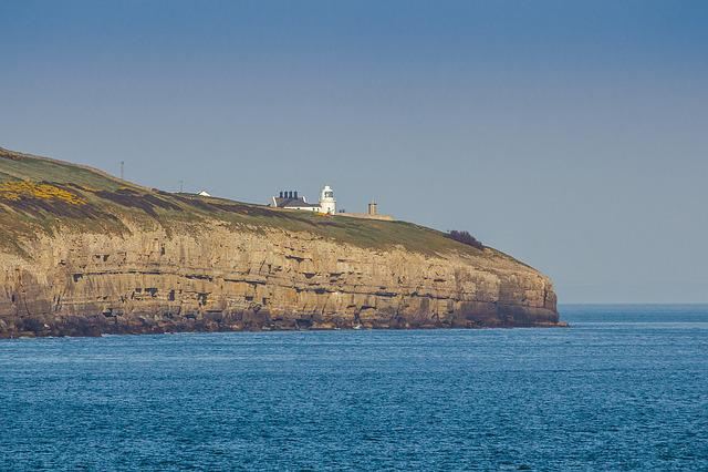 Lighthouse, Coast, Ocean, Jurassic Coast, Dorset