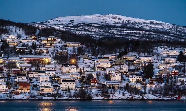 Norway, Coast Line, Water, Scandinavia, Europe