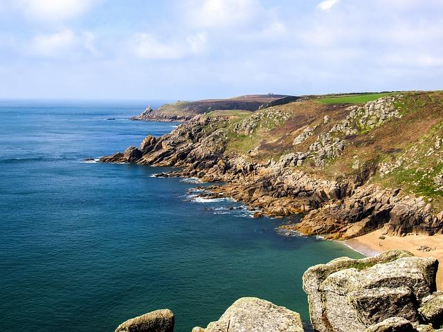 Cornwall, Coast, Landscape, Sea, England, Nature, Rock