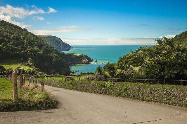 Bay, Ocean, Nature, Coast, Devon