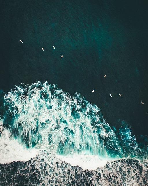 Water, Waves, Ocean, Shore, Coast, Breakers, Surf