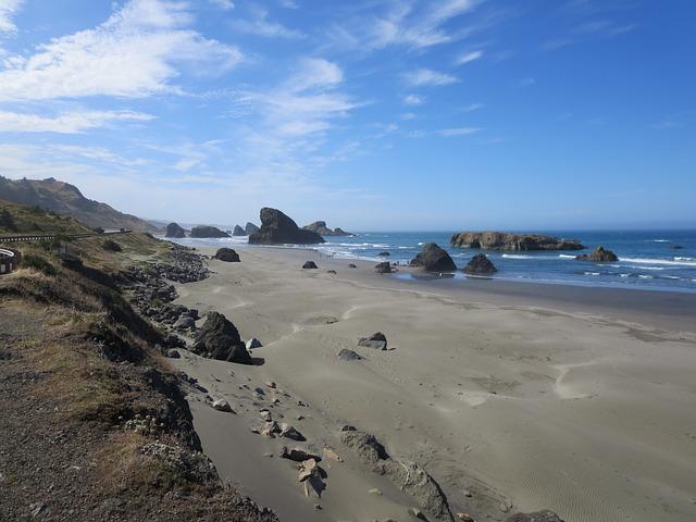 Oregon, Coast, Oregon Coast, Ocean, Pacific, Sea, Beach