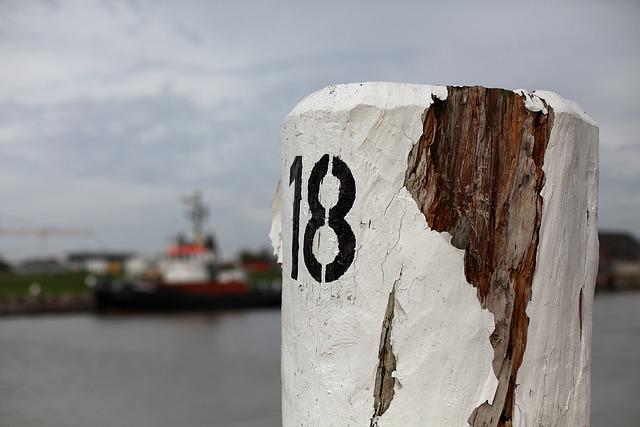 Bollard, Water, Wooden Posts, Anchorage, Pier, Coast
